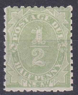 1891 NSW postage dues x3  Fine MLH Cat 65pnds
