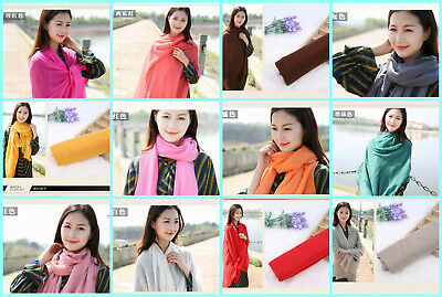 US Seller- 12 Discount Scarf scarves plain casual light weight shawls wholesale