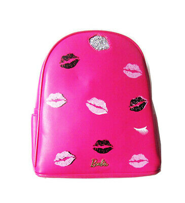 536aea4b98a3 A-ZA Brand BARBIE Backpack bag in Hot Pink with Gold Trim