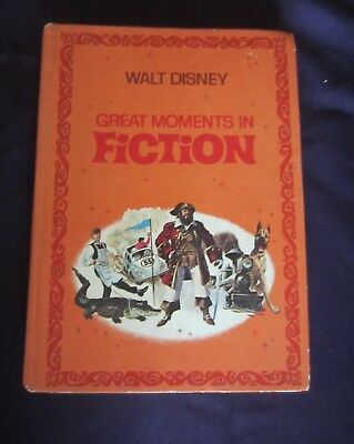 Vintage Walt Disney Parade  Book -1970-  Great Moments In Fiction - Golden Press