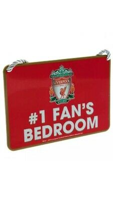Liverpool FC Bedroom Sign No1 Fan Official Merchandise Gift Number One 1
