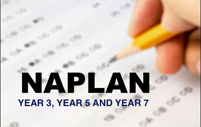 NAPLAN Past papers with answers Year 3,5 OR 7 all subjects