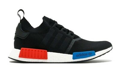 promo code a9a4e 2ef42 Deadstock Adidas NMD R1 PK OG Black Red blue 2017 Release S79168 Size 9.5