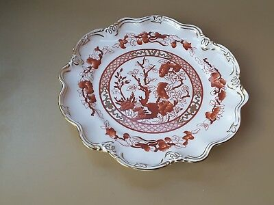 """Collectable Coalport  """"INDIAN TREE CORAL"""" PLATE  9 INCH ENTREE ? PLATE"""
