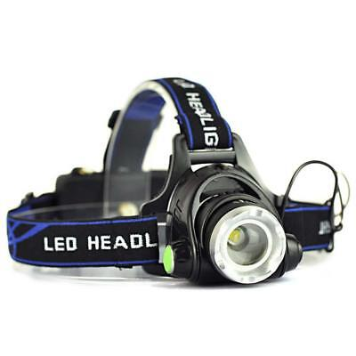 12.000 lm zoom T6 Linterna frontal recargable 3 - Mode LED Antorcha linterna OE