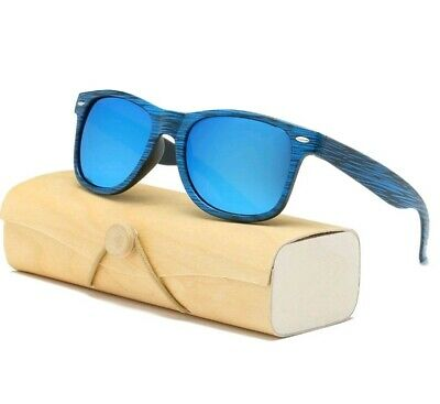 Luxury Summer Retro Sunglasses UV400 Shades Wooden Effect 7 Different Colours