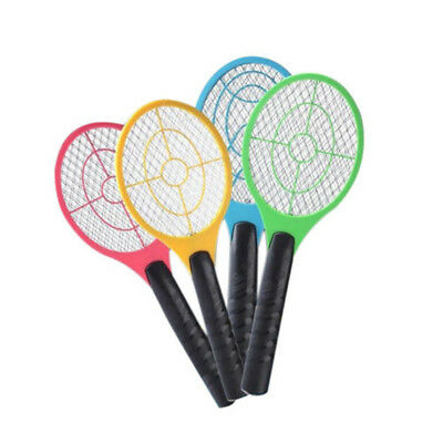 Mosquito Swatter Killer Electric Tennis Bat Handheld Racket Insect Fly Bug WRDE