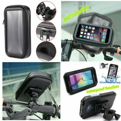 Waterproof Bike Bicycle Mount Holder Phone Case Cover for Mobiles Universal HW