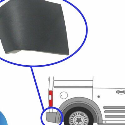 Right Side Rear Bumper Corner End Caps With Clips For Ford Transit Connect NU #