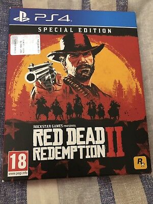 PS4 Red Dead Redemption 2 (SPECIAL EDITION)