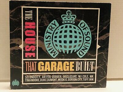 Ministry of Sound - The House That Garage Built (3CD) - M-/M- Unplayed