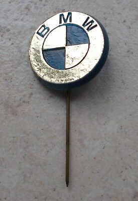 BMW Badge Vintage Pins Auto Automobile Allemagne ancien 1960s