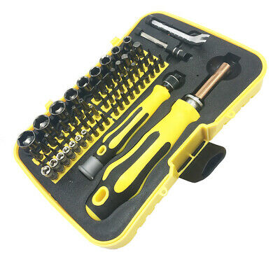 Precision Screwdriver Set 68 in 1 Electronics Repair Tool Kit Professional Yello