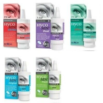 Hycosan Eye Drops For Dry Eye - Variations available