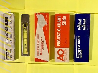 Reichert LongLife P.O.C Chart Projector Slides Adult And Pediatric