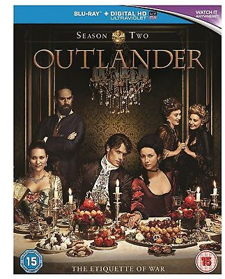 Outlander - Complete Series 2 Out Lander Second Season Brand New Sealed Blu Ray