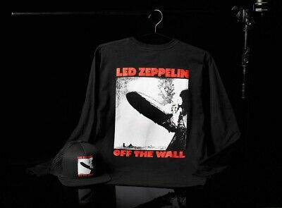 423cf073d19 NWT VANS X Led Zeppelin - Black Long Sleeve T-Shirt Limited Edition ...