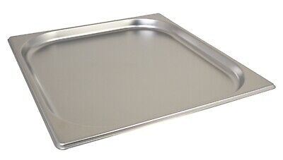 Stainless Steel 2/3 Size Gastronorm Pan Bain Marie Pot 20mm / 2.3ltr / 81oz