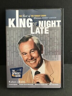 King of Late Night: The Best of The Tonight Show Starring Johnny Carson (DVD)