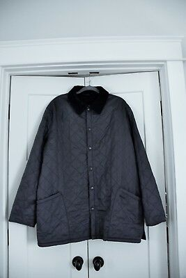 Barbour Men's Eynsford, Navy Blue, Quilted Jacket, Size XXL