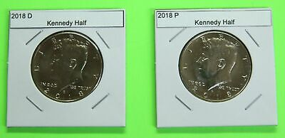 2018 PD Kennedy Half 2 coin set from Mint Bags - Free Shipping