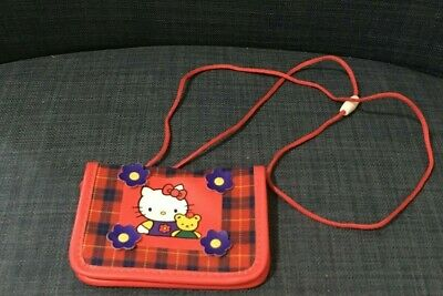 44a900ee3 SANRIO HELLO KITTY Plaid Red and Green 13