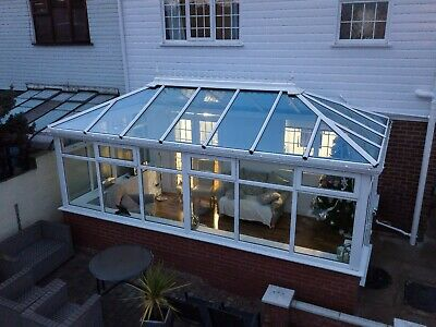 Pre owned conservatory fitted, collection, bases.