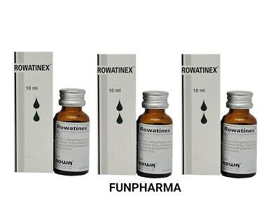Rowatinex Drops 3 x 10ml, for the treatment of urinary tract- 1st Class Shipping