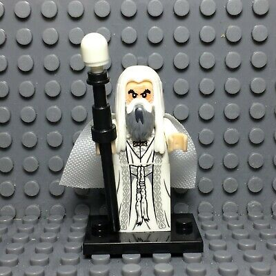 Saruman the White Custom Minifigure Minifigures LEGO Compatible LOTR d3133d0bf