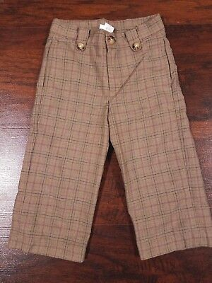 Janie And Jack 12 18 Months Roll Stripe Pants Brown Green Boys' Clothing (newborn-5t) Clothing, Shoes & Accessories