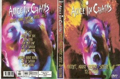 alice in chains live in seattle wa. dvd 1990 soundgarden queensryche ozzy