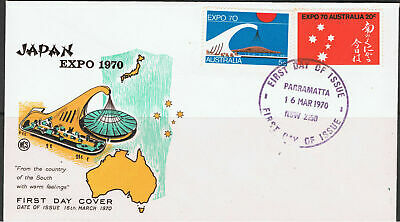 Australia 1970 Expo 70 Osaka Japan First Day Cover