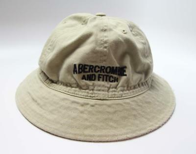 4284e4e32db Vintage ABERCROMBIE   FITCH Bucket Hat Size Large Embroidered Spell Out