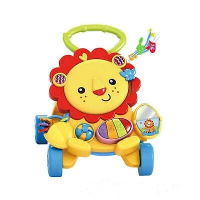 First Steps Baby Walker Sounds  and Lights Fun Push Along Walker