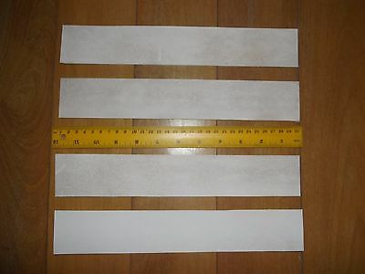 KNIFE STROP KANGAROO TAIL LEATHER VEG TANNED 4 x STRIPS 300mm x 50mm WITH VIDEOS