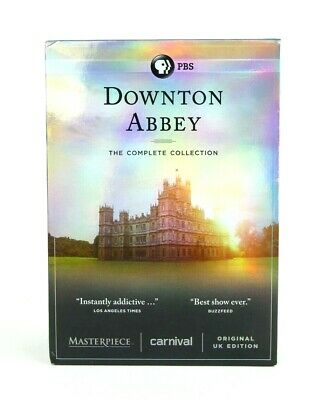 Downtown Abbey The Complete Series Collection DVD Original UK Edition