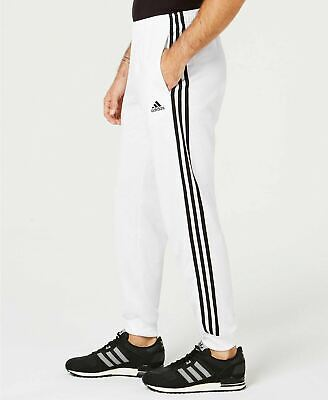 [DW9284] Mens Adidas Essential Tricot 3 Stripe Tapered Pants