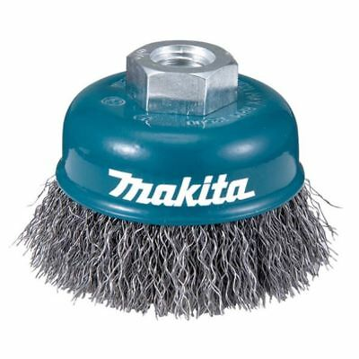 Makita Wire Cup brush Crimped Wire 0.3mm steel wire D-24072