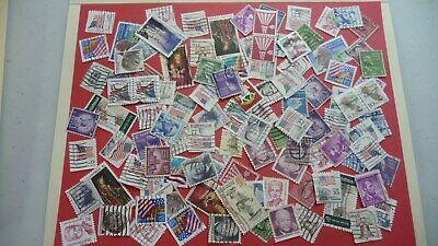 983  - lot 100 timbres secondsUSA