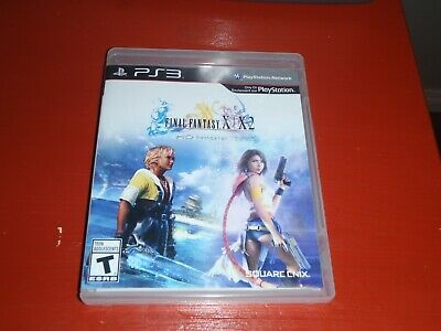 Final Fantasy X/X-2 HD Remaster (Sony PlayStation 3, 2014) -Complete