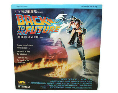 Back to the Future Laserdisc Extended Play Michael J Fox Spielberg