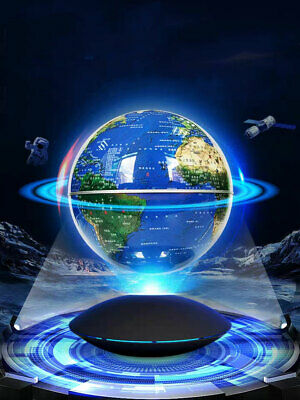Magnetic Levitation Terrestrial Globe World Map Lamp Planet Suspended in Space