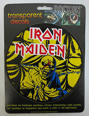 Iron Maiden Rock On Decal Car Window Mirror Decals Rock & Roll Key Productions