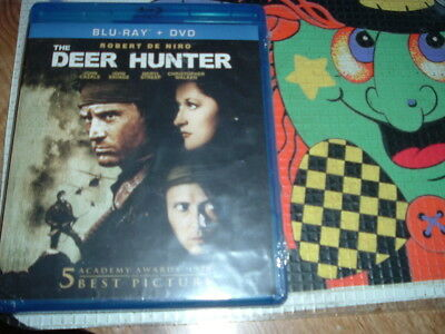 The Deer Hunter Blu-ray + DVD Robert DeNiro Christopher Walken RUSSIAN ROULETTE
