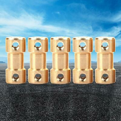 5pcs Motor Copper Shaft Coupling Coupler Connector Sleeve Adapter 3.175-3.175mm