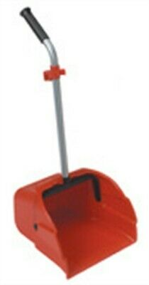 Harper  Plastic  Stand-Up Long Handled  Dust Pan