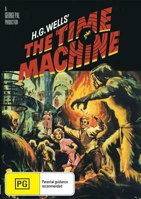 The Time Machine - H.g Wells - Dvd - Free Local Post