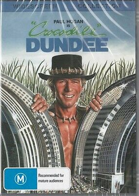 Crocodile Dundee - Paul Hogan All Time Classics - New Dvd Free Loacal Post
