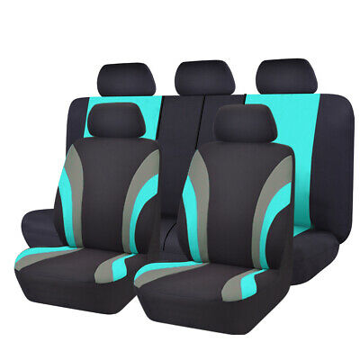 NEW 11PCS Automobile Universal fit car Seat Covers 40/60 50/50 split mint color