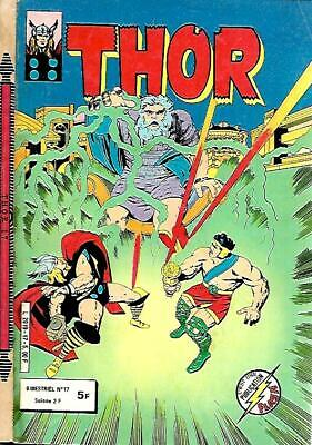 COMICS POCHE publication FLASH--THOR n° 17 éditions AREDIT 1982-1ere Série